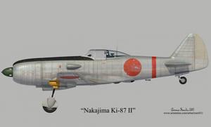 Nakajima Ki-87 II by rOEN911