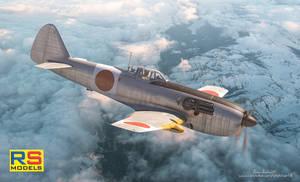RS-Models :Ki-87 prototype box art