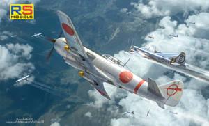 RS-Models :Ki-87 II box art
