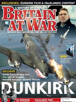 Britain At War Magazine issue July 2017