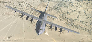 AC-130J Ghostrider Gunship