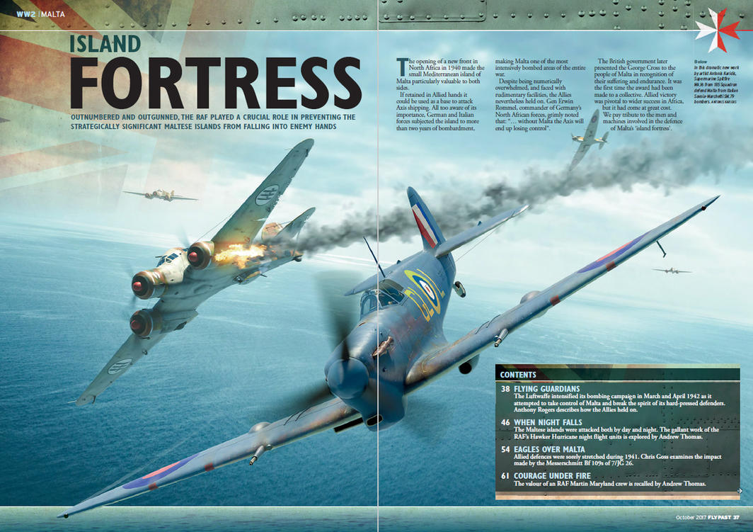 FlyPast magazine commission, October issue by rOEN911
