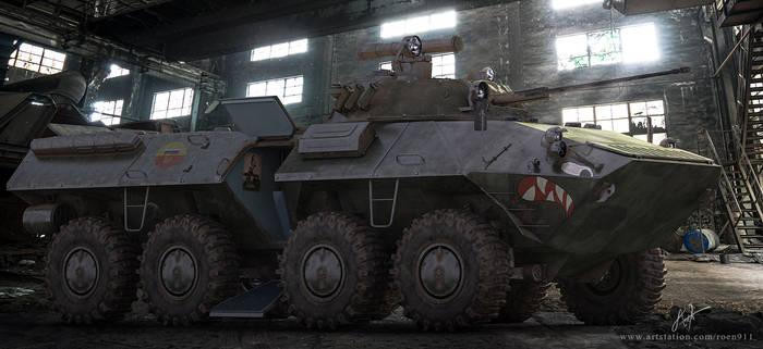 BTR-90 Shark Mouth