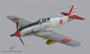 Kawasaki Ki-61 3D model