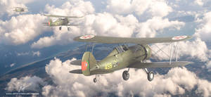 Portuguese air force gloster gladiators