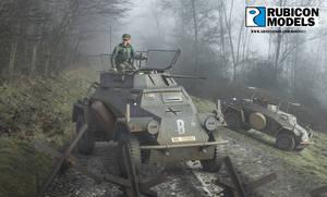 Rubicon Models SdKfz 222 Box Art
