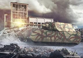 Panzer VIII Maus by rOEN911