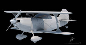 Christen eagle ii 3D model by rOEN911