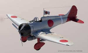 Mitsubishi A5M  WIP by rOEN911
