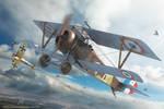 CopperState models Nieuport XVII Box Art by rOEN911