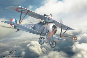 Copperstate Models Nieuport XVII Late BOX ART by rOEN911