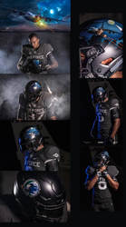 US Airforce Falcons Football Team by rOEN911