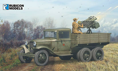 GAZ Truck with Quad Maxim AA MMGs by rOEN911