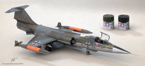 f-104 starfighter by rOEN911