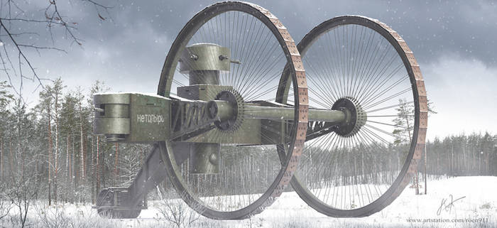 Tsar Tank by rOEN911