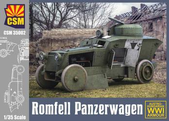 ROMFELL panzerwagen Box Art by rOEN911