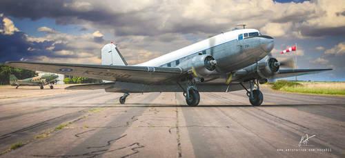 HAF C-47 Dakota by rOEN911