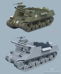 M7 Priest Motor Carriage by rOEN911