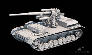 Panzer IV ausf.H with Flak 88