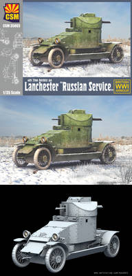 CopperState Models - Lanchester ,Russian Service