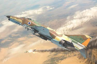 IAF F-4 Phantom - Yom Kippur war by rOEN911