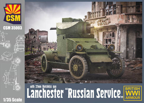 CopperState Models - Lanchester in Russian Service