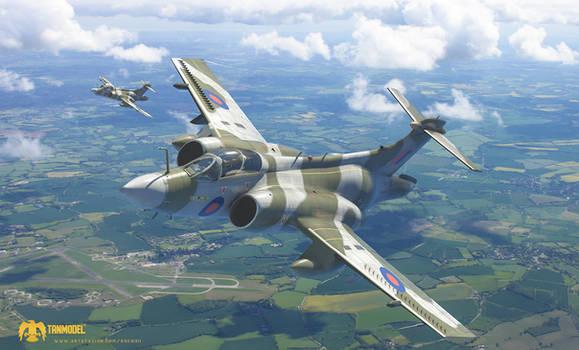 TANMODEL - Blackburn Buccaneer S.Mk2 Box Art