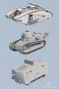 WW1 Tanks (WIP)