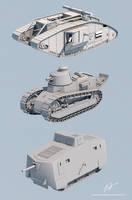 WW1 Tanks (WIP)