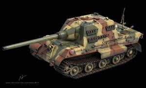 SdKfz 186 Jagdtiger  3D model