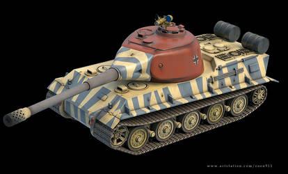 Panzerkampfwagen VII Lowe 3d Model