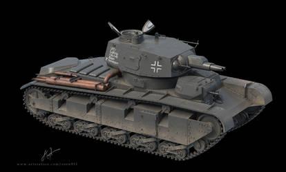 PzKpfw Nb.Fz - Neubaufahrzeug 3D model