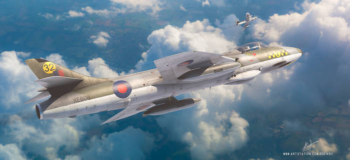 Hawker Hunters