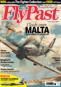 Flypast Magazine Artwork - January 2020 issue