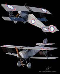 Russian Nieuport XXI