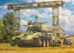 Fries Kran 16t Strabokran and Panther Tank