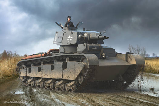 Neubaufahrzeug Nr.3-5 Tank