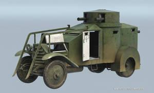 Lancia Armored car 3d model