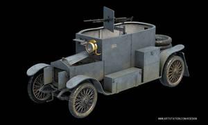 Minerva Armored Car Light Reconnaissance Vehicle