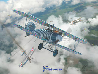 Flatworks gaming - Squadron Dice Game