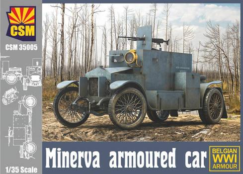 Copperstate Models Minerva Armored Car Box Art