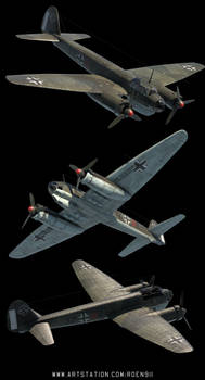 Ju-88 3d Model