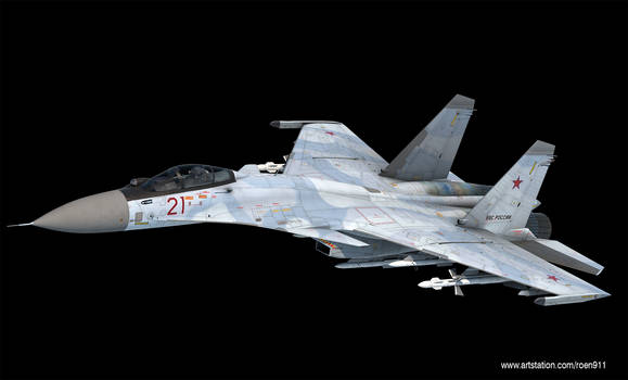 Sukhoi Su-33 3d model