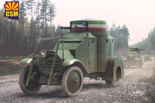 Copperstate Models Lancia IZM