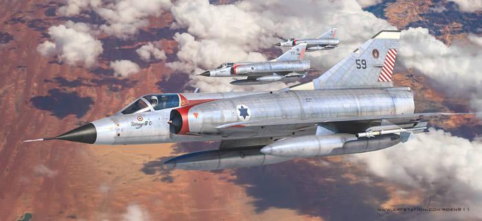 Mirage IIICJ -Shahak- 59