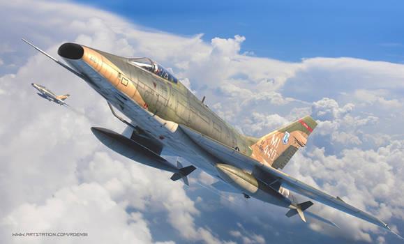 North American F-100D Super Sabre