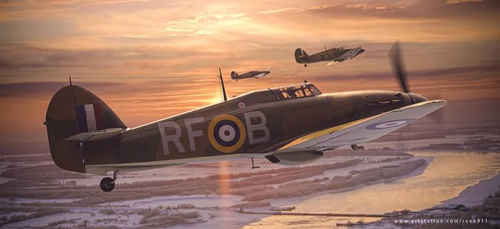 303 Squadron - New Years Patrol