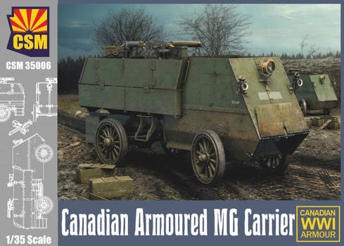 CPM models - Armoured MG Carrier