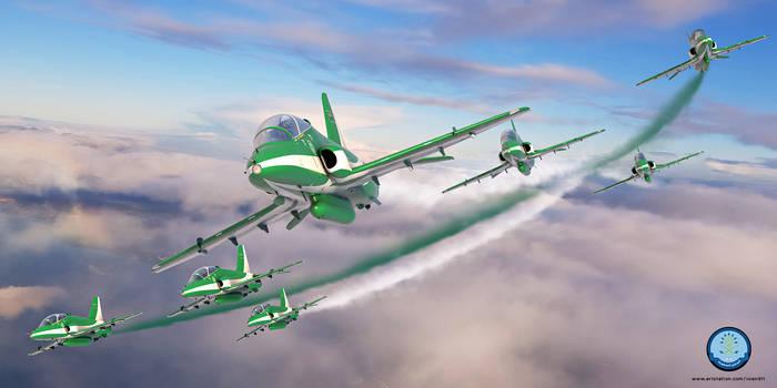 Royal Saudi Air Force - Hawks