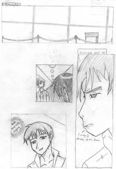 page one manga hot sake